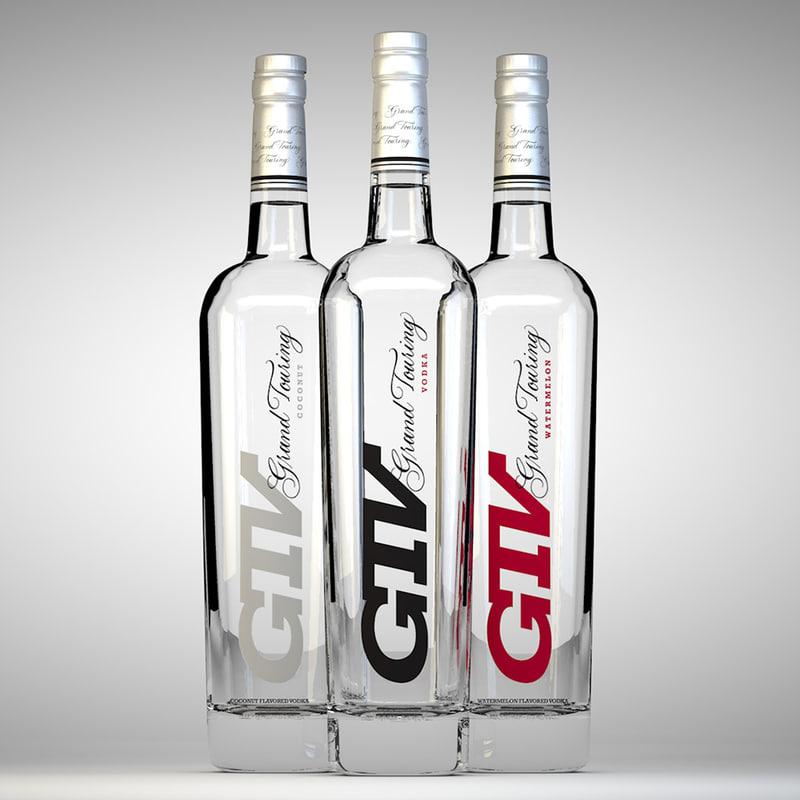 grand touring vodka c4d