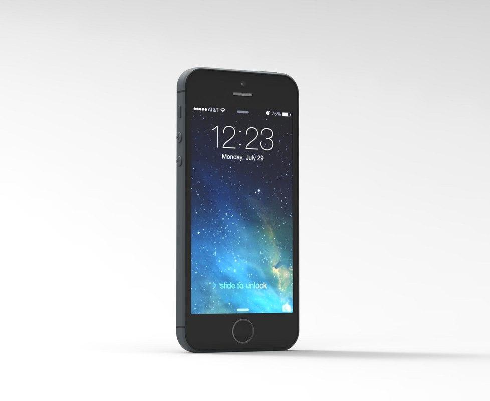 3d apple phone 5s