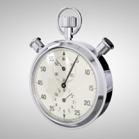 3d model stopwatch stop watch