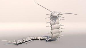 3d centipede