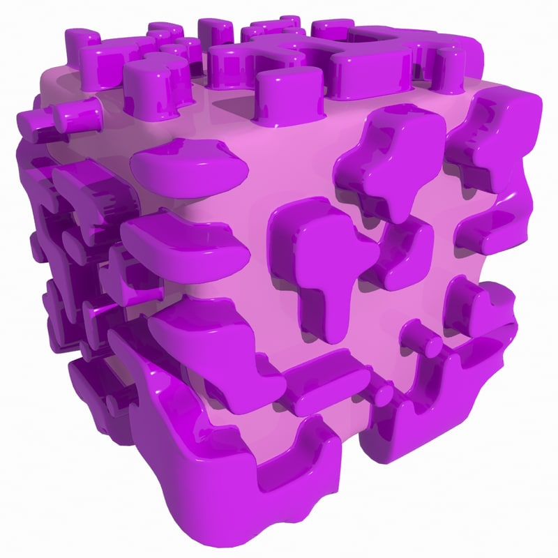 3d complex object model