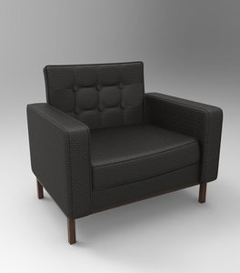 arm chair 3d obj