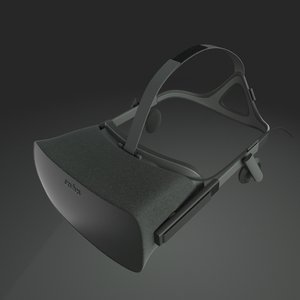 3d oculus rift model