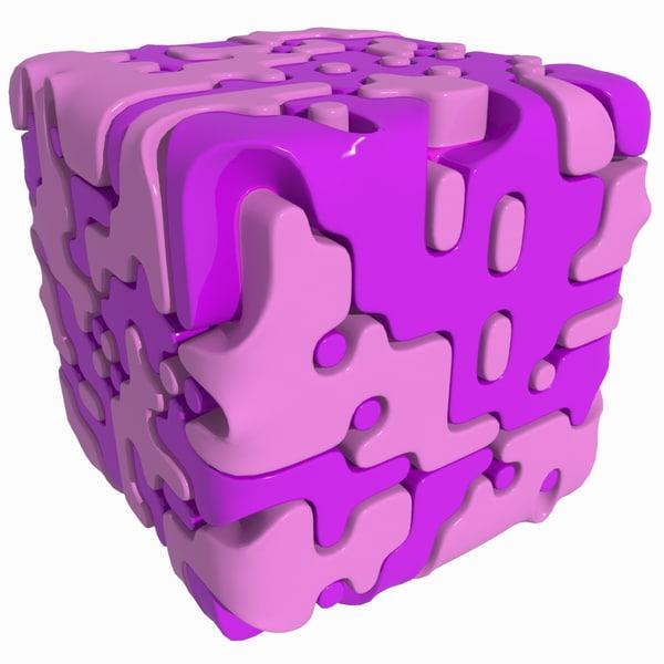 3d model complex object