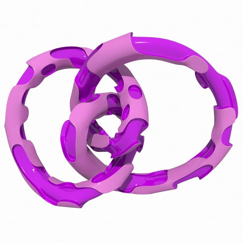 complex object 3d model