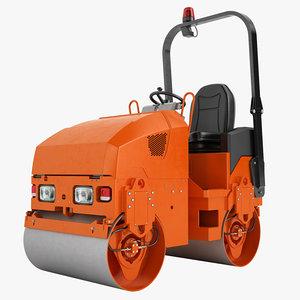 3ds max asphalt compactors