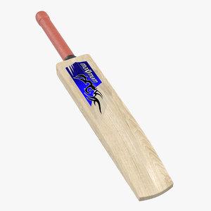 cricket bat maximum sport 3d model