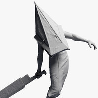 3ds max pyramid head