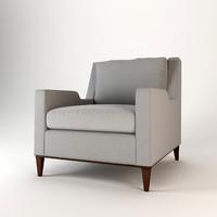 max baker presidio lounge chair