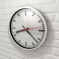 Animated XPresso wall clock