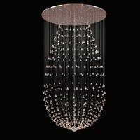 light custom chandelier glass 3d 3ds