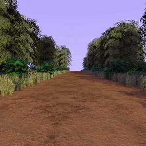 country forest path 2 3d 3ds