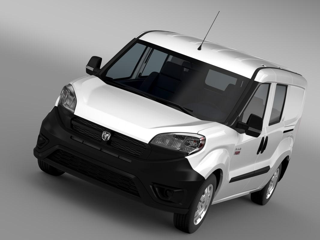 ram promaster city wagon 3d model