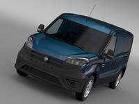 ram promaster city tradesman 3d model