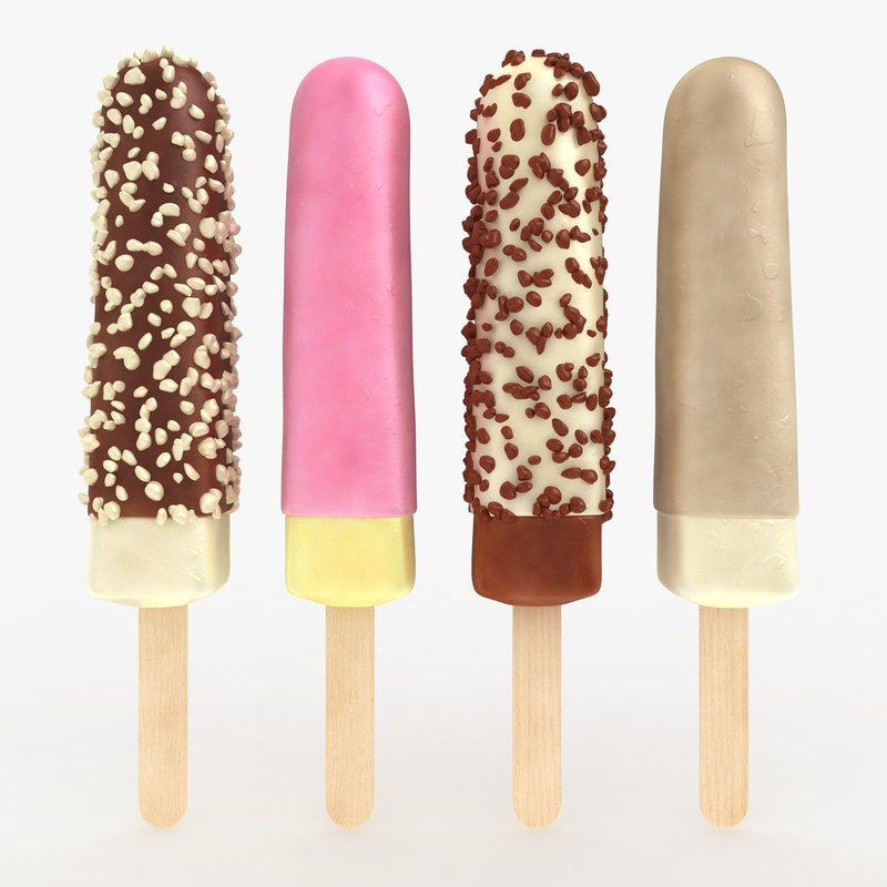 ma popsicle coated 4 colors