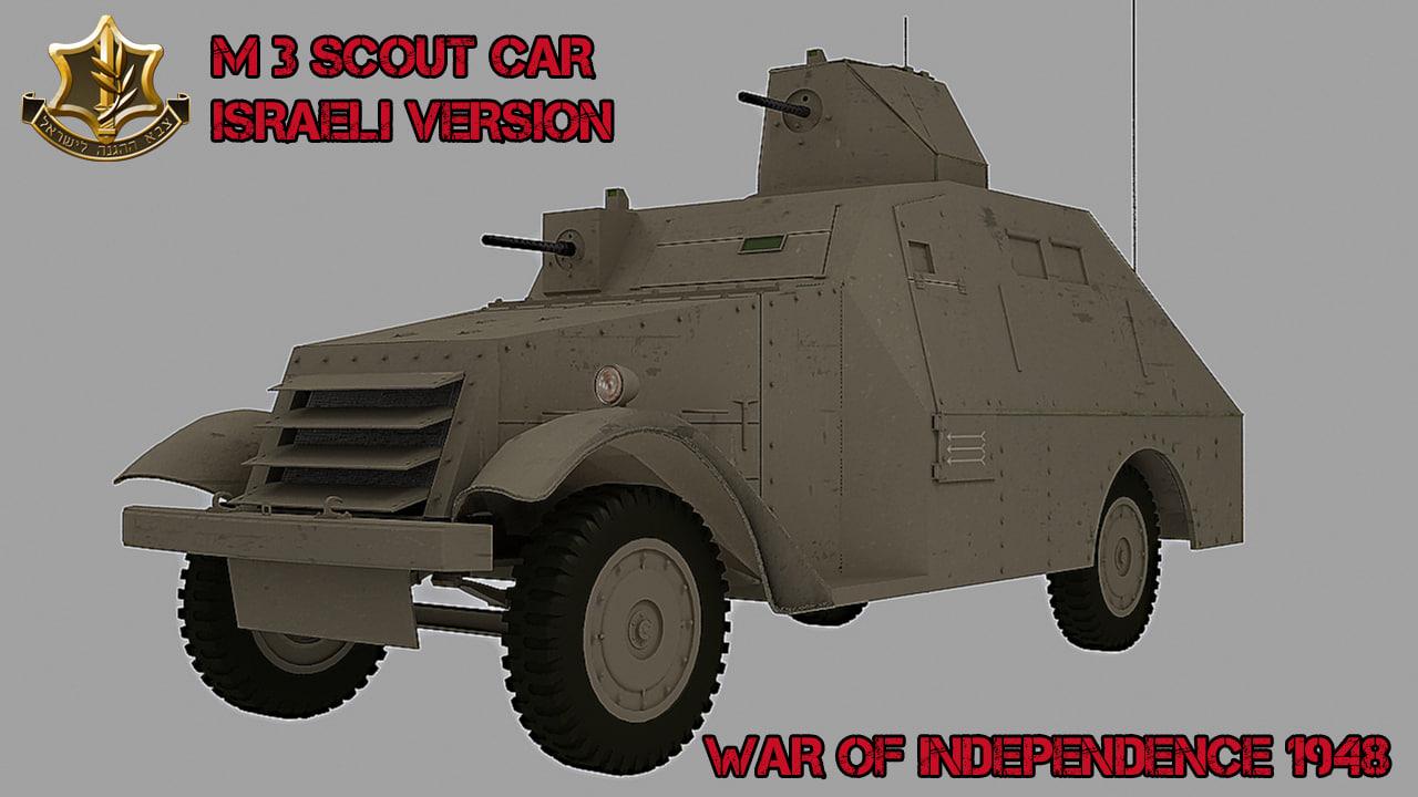1948 versions m3 3d model