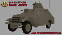 APC M3 Scout Car Isareli Version