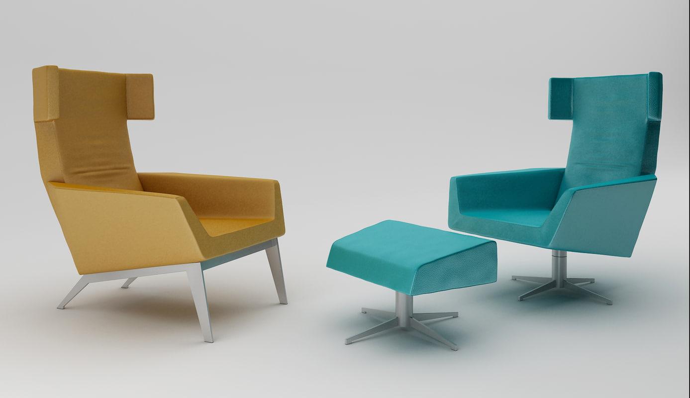 3ds leolux elixir armchair