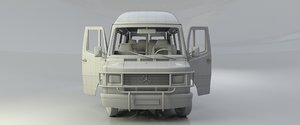 3d car mersedes-benz-309d