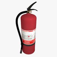 extinguisher - fbx