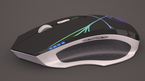 max mouse neon spider