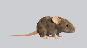mouse 3d blend