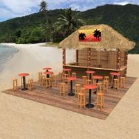 3ds max kiosk beach