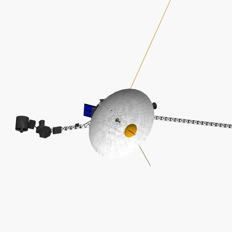 voyager deep space probe 3ds
