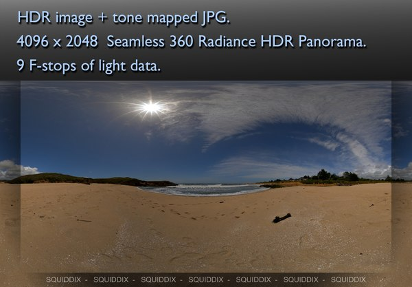 SANDY BEACH, 360 PANORAMA #144