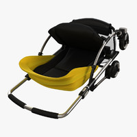 Bugaboo Bee Pram - Folded