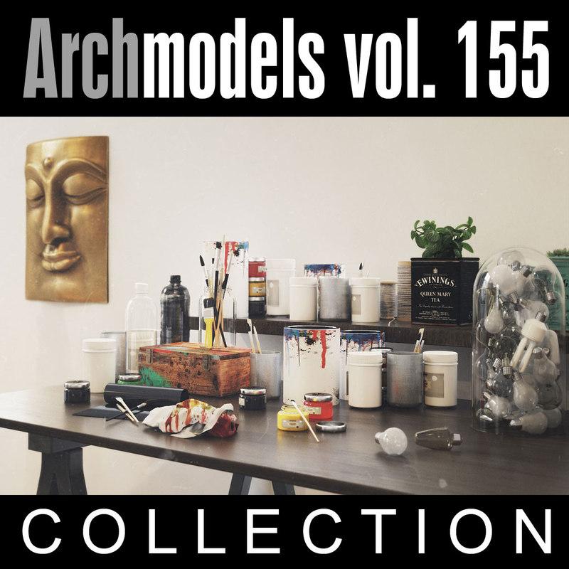 archmodels vol 155 3d max
