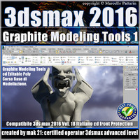 018 3ds max 2016 Graphite Modeling Tools1 vol 18 cd front