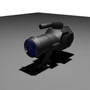 free max model pk23 scope