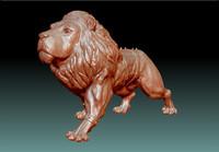 3d model stl lion