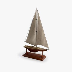 wood ship c4d