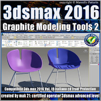 019 3ds max 2016 Graphite Modeling Tools 2 vol 19 cd front
