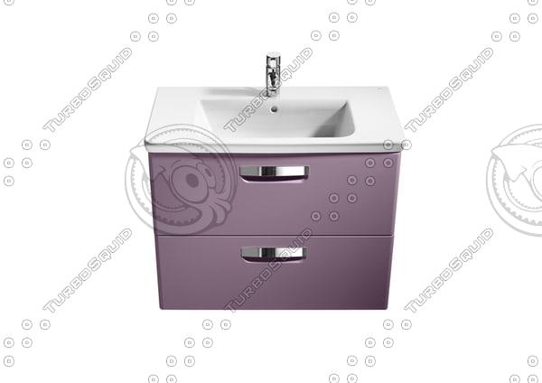 Lavabo Urbi 1 De Roca.Roca Bathrooms 3d Models For Download Turbosquid