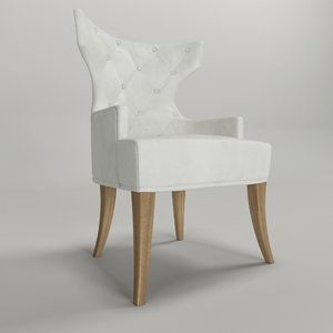 cadeira jey artefacto 3d max