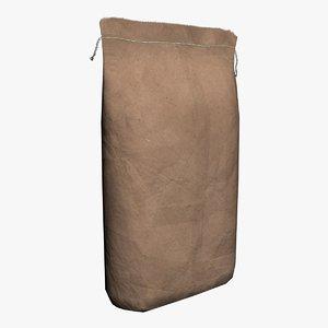 paper sack 3d max
