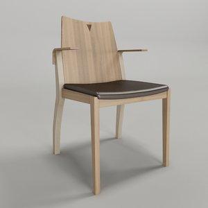 cadeira marina - fernando 3d 3ds