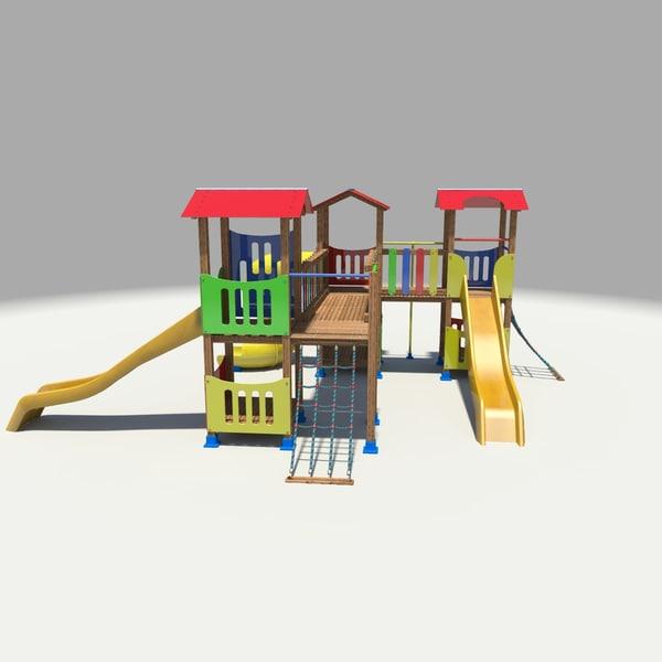 3ds max playground slides