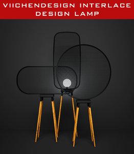 viichendesign interlace lamp interior max