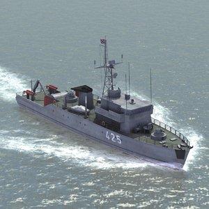 3d model russian sonya minesweeper