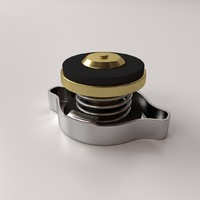 3ds max radiator cap