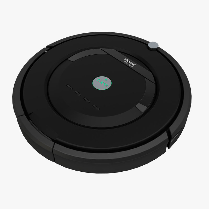 3d model irobot roomba robotic