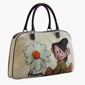 3d dopey bag model