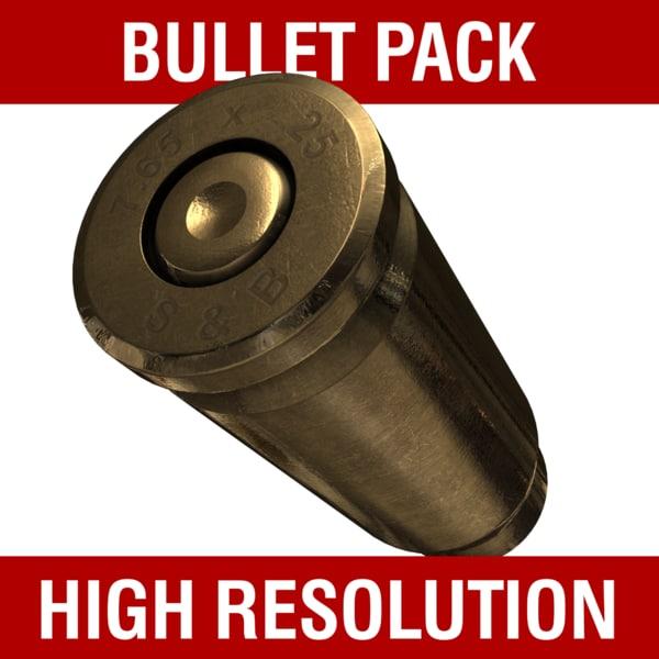 bullet pack 3d max