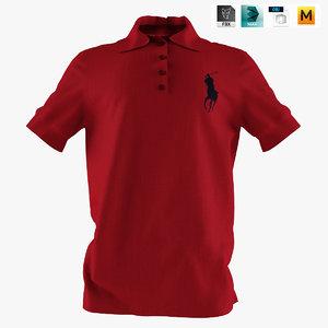 3d shirt - model