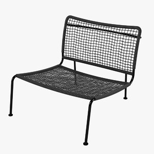 3d carbon frog chair