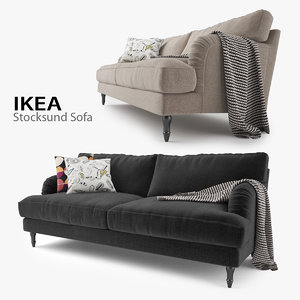 ikea stocksund sofa seat max
